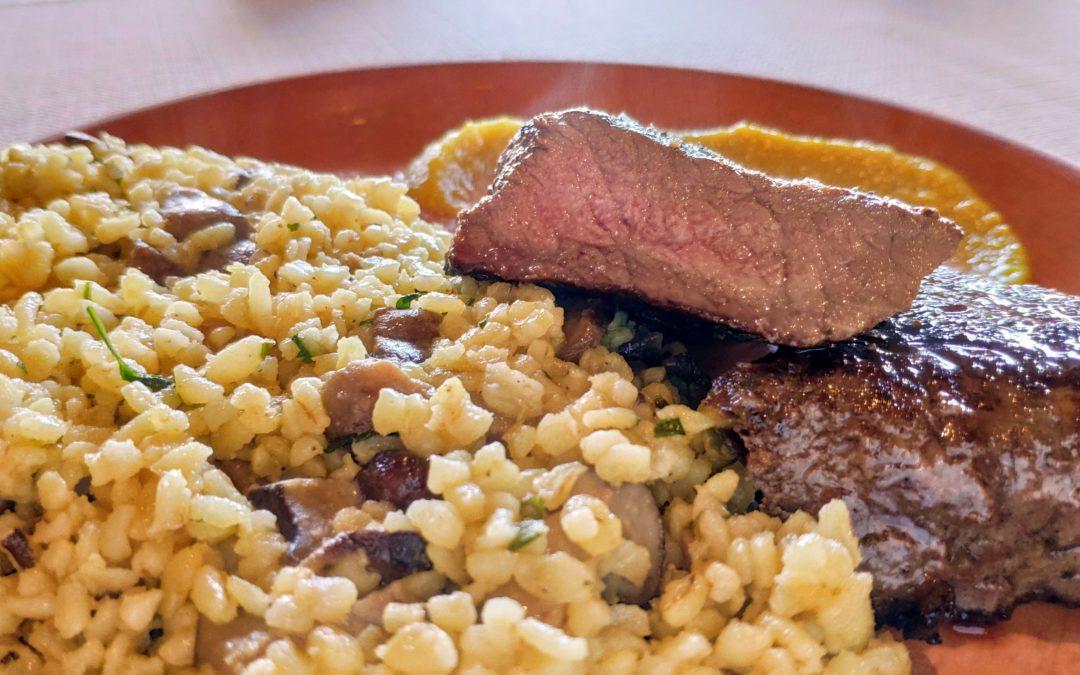 Omlós bivalyhús a Renaissance Étterem étlapján