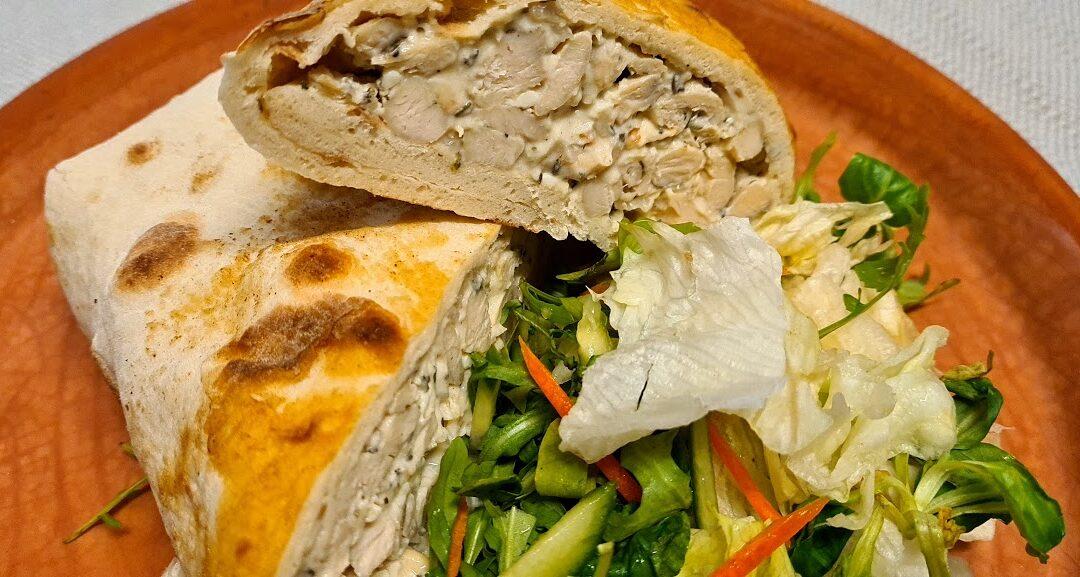 Újdonságunk: Zöldfűszeres csirke lepény